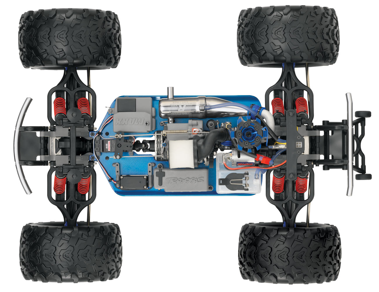 traxxas maxx nitro truck monster 4wd rtr rc trucks cars lprcs