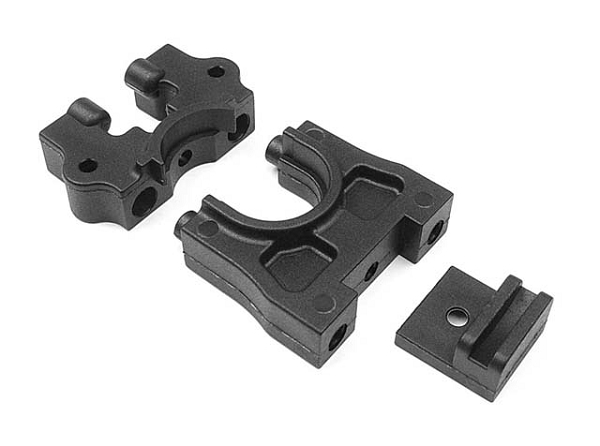 Xray XB2 Cter Diff Mounting Plate - Graphite