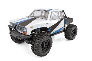 Team Associated CR12 Tioga Trail Truck RTR 1/12 4WD Rock Crawler (White/Blue) (w/2.4GHz Radio, Battery & Charger)