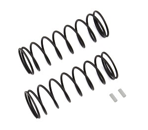 Team Associated Front Springs V2, White [5.1lb