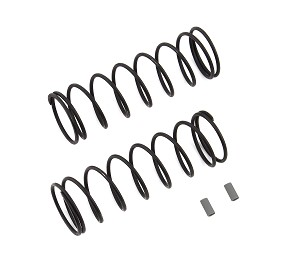 Team Associated Front Springs V2, Gray [5.3lb]