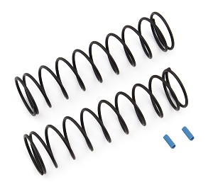 Team Associated Rear Springs V2, Blue [4.3lb],