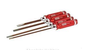 EDS 130993 RACING PROD. FLATHEAD SCREWDRIVERS Set