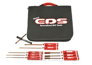 EDS Racing Combo Tool Set With Tool Bag - 9pcs (Metric)