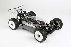 HB Racing Predator Bodyshell (Clear) With Lexan Wing (D819-E819)