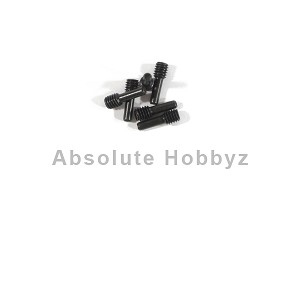 HPI 4x2.5x12mm Screw Shaft (Black) (6)