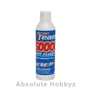 Team Associated Silicone Differential Fluid (60,000cst) (2oz)
