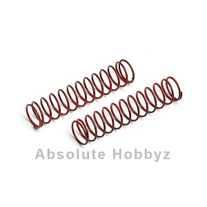 Team Associated Rear Shock Spring 2.95lb (Red) (2)