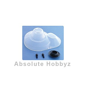 Team Associated Molded Gear Cover (Clear) (B4/T4/SC10)