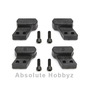 Team Associated Factory Team Aluminum Hub Tower Set (A-Left/Right, B-Left/Right)
