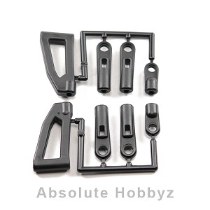 Kyosho Upper Arm Set for 17? Front Hub Carriers (GT/GT2)