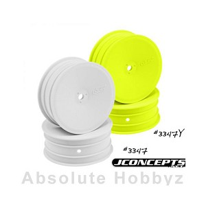 JConcepts - Mono - B4.1 | RB5 - 12mm Hex Front Wheel Yellow (4pc)