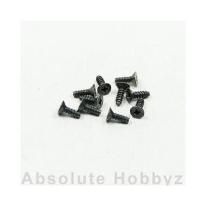 Kyosho 1-S32608TP TP Flat Head Screw (M2 6x8) (10pcs)