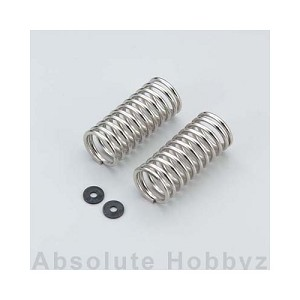 Kyosho Front/Rear Shock Spring (Silver) (2)