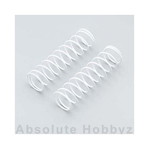Kyosho 84mm Big Bore Medium Length Shock Spring (White) (1pr)