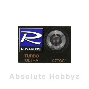 Novarossi Turbo #7 Long Body Ultra Glow Plug (Cold)
