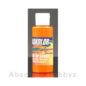 Parma PSE Faskolor Fluorescent Orange Lexan Body Paint (2oz)