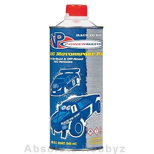 PowerMaster RC Pro Nitro Race 30% Car Fuel (9% Castor/Synthetic Blend) (One Quart)