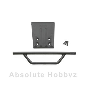RPM Front Bumper & Skid Plate Black Slash