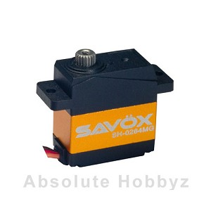 Savox SH-0264MG Super Torque Metal Gear Micro Digital Servo