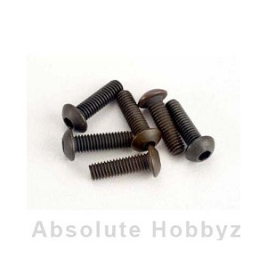 Traxxas 3x10mm Button-Head Machine Hex Screws (6)