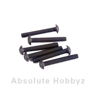 Traxxas Screws, 3x20mm button-head machine (hex drive) (6)