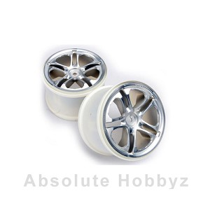Traxxas Wheels SS (Split-Spoke) 3.8'' (Satin) (1pr) (Fits Revo / Maxx Series)