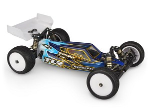 JConcepts TLR 22 4.0 S2 Buggy Clear Body w/Aero Wing