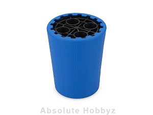 JConcepts Exo 1/10th 12mm Shock Stand & Cup (Blue/Black)