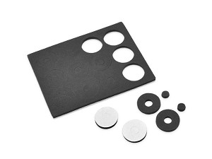 JConcepts 1/10 Scale Adhesive Foam Body Washers (12)