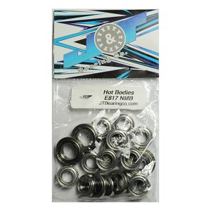 "J&T ""NMB"" Bearings for the HB Racing E817 Electric Buggy"
