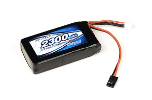 Much-More IMPACT Li-Fe Battery 2300mAh/6.6V 4C Tx for Futaba 4PK