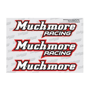 Much-More Muchmore Racing Big Decal