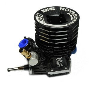 Novarossi S21P5XLT .21 5 Port Off Road Buggy Black Special Edition (w/ Pipe & Manifold)