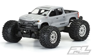 Pro-Line 2019 Chevy Silverado Z71 Trail Boss Body (Clear) (Stampede 4x4)