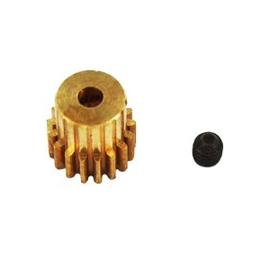 Redcat Brass Pinion Gear (17T, .6 Module)