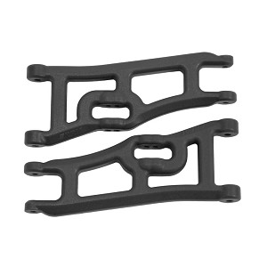 RPM Wide Front A-Arms Black Rustler / Stampede