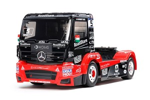 Tamiya Tankpool24 Mercedes Actros 1/14 4WD On-Road Semi Truck