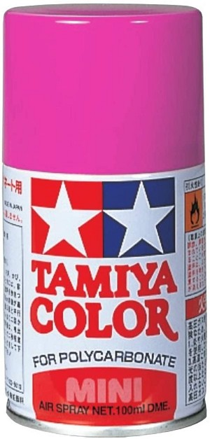 Tamiya PS-29 Fluorescent Pink Lexan Spray Paint (3oz)