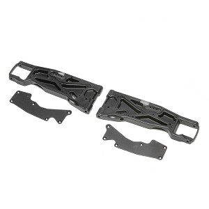 Team Losi Racing Front Arms Inserts (2): 8XT