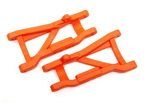 Traxxas Heavy Duty Cold Weather Suspension Arms Rear (Orange) (2)