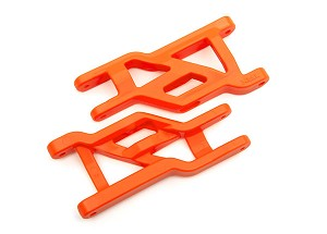Traxxas Heavy Duty Cold Weather Suspension Arms Front (Orange) (2)