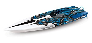 Traxxas Spartan High Performance Race Boat RTR (BlueX)