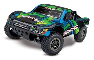 "Traxxas Slash 4X4 ""Ultimate"" RTR 4WD Short Course Truck (Green)"