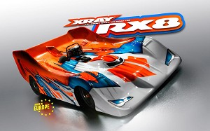 Xray RX8.2 1/8 On-Road Nitro Competition Racing Car Kit