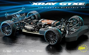 Xray GTXE.2 1/8 GT Electric On-Road Touring Car Kit